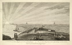 An East View Of Fort Royal In The Island Of Guadaloupe